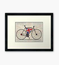 Love Bike, Love Britain Framed Print