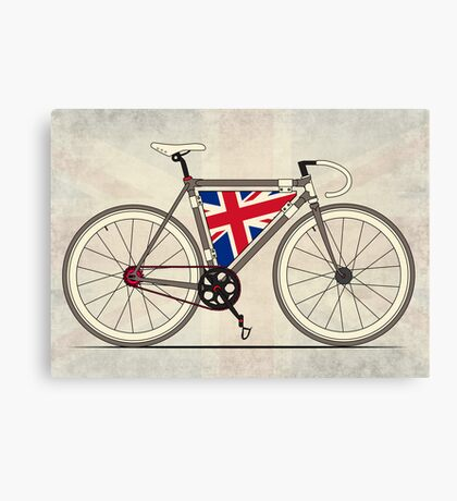 Love Bike, Love Britain Canvas Print