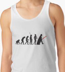 Human evolution Star wars Tank Top