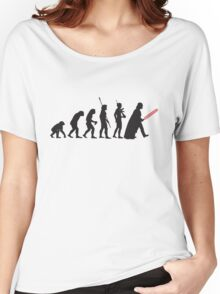 Human evolution Star wars Women's Relaxed Fit T-Shirt