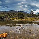 Ripples in the River by Mark  Lucey
