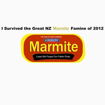 I Survived the Great NZ Marmite Famine of 2012 by strawberrymouse