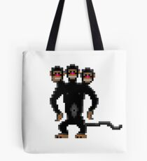Look behind you! (Monkey Island) Tote Bag