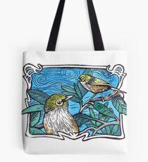 Silvereye Tote Bag