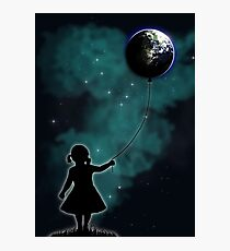 The Girl That Holds The World Photographic Print
