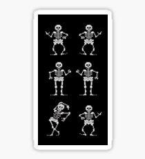 Bone Parents Dance (Monkey Island 2) Sticker