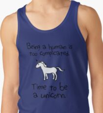 Time To Be A Unicorn Tank Top