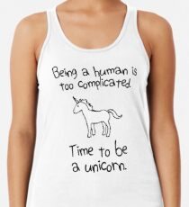 Time To Be A Unicorn Women's Tank Top