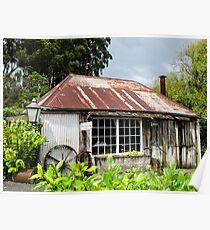 blacksmiths shop Poster