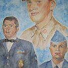 Three Generations Military Family by Jennifer Ingram