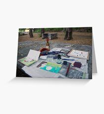 Atelier en plein air Greeting Card