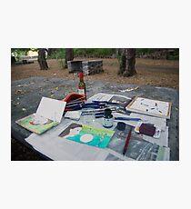 Atelier en plein air Photographic Print