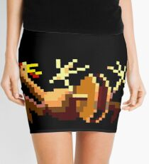 Rubber chicken with a pulley in the middle (Monkey Island) Mini Skirt