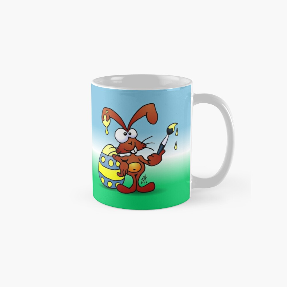The Easter Bunny wishes you Happy Easter Mugs
