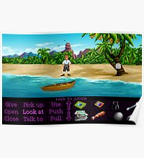 Finally on Monkey Island (Monkey Island 1) Poster