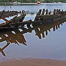 Remains of the Way - Sunk at Strahan by TonyCrehan