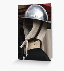 Traditional Helmet 2 Greeting Card