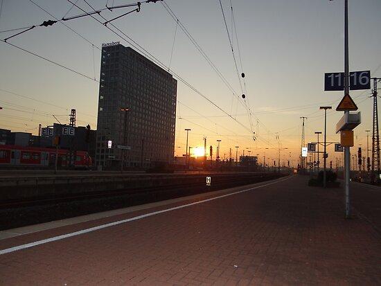 Dortmund Hbf by Anita Deppe