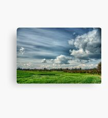 Catching Clouds (colour) Canvas Print