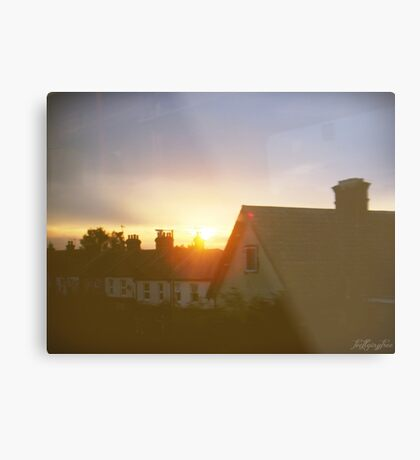 sights of cities and towns Metal Print