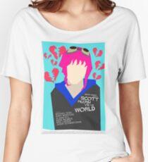 Scott Pilgrim Verses The World - Saul Bass Inspired Poster (Untextured) Women's Relaxed Fit T-Shirt