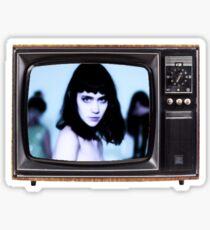 Grimes TV Sticker