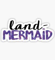 Land-Mermaid Sticker