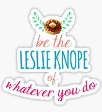Team Leslie Knope Sticker
