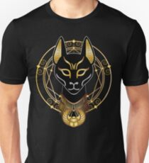 Golden Bastet Unisex T-Shirt