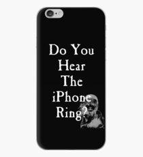 Vinilo o funda para iPhone ¿Oyes el anillo de iPhone?