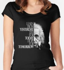 Live for Today Women's Fitted Scoop T-Shirt