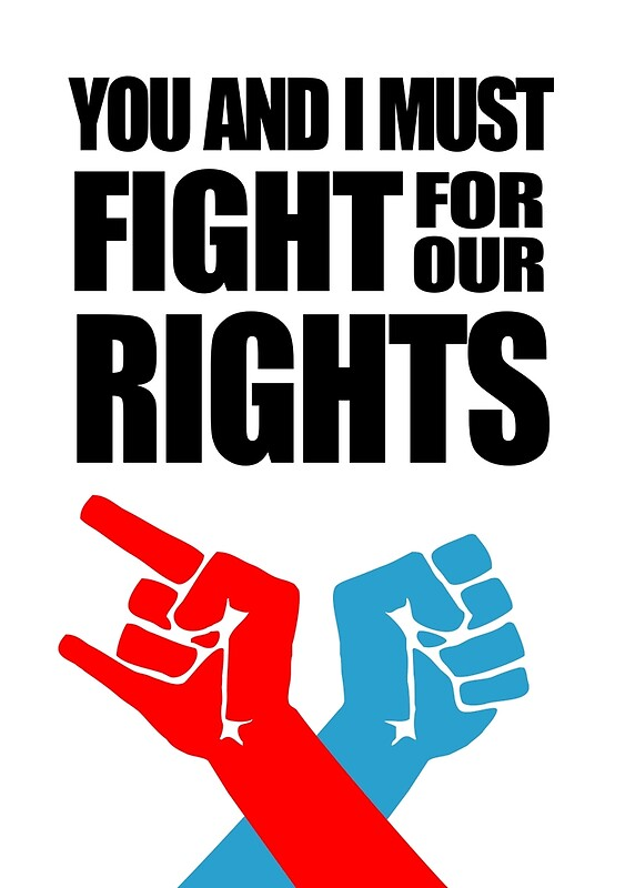 fight for our rights essay A fight for rights essay sha-dasha poe heather lowry english 1101 7 november 2013 a fight for rights standing up and fighting for rights within  off our race .