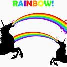 «Vomito doble del unicornio del arco iris» de jezkemp