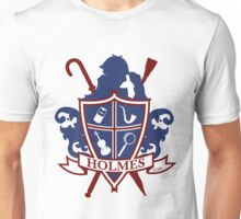 Holmes Family Crest Unisex T-Shirt