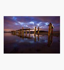 Fahan Pier Photographic Print