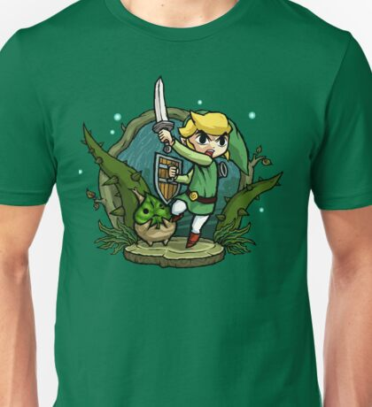 Zelda Wind Waker Forbidden Woods Temple Unisex T-Shirt