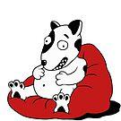 bean bag doggy by Dr Woo