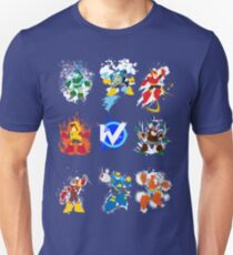Robot Masters of Mega Man 2 T-Shirt