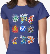 Robot Masters of Mega Man 2 Women's Fitted T-Shirt