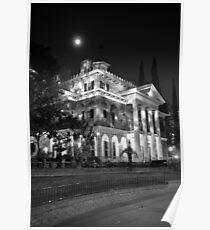 Haunted Mansion - Night Poster