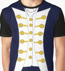 Lieutenant RN Napoleonic Instant Cosplay Hornblower Graphic T-Shirt