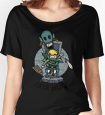 Zelda Wind Waker FREE HUGS  Women's Relaxed Fit T-Shirt