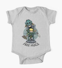 Zelda Wind Waker FREE HUGS  One Piece - Short Sleeve