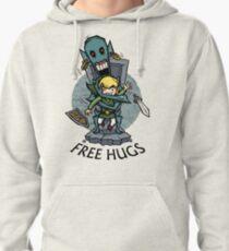 Zelda Wind Waker FREE HUGS  Pullover Hoodie