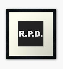 R.P.D. Framed Print