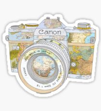 TRAVEL CAN0N Sticker