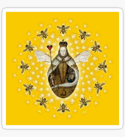 Mandala Queen Bee Sticker