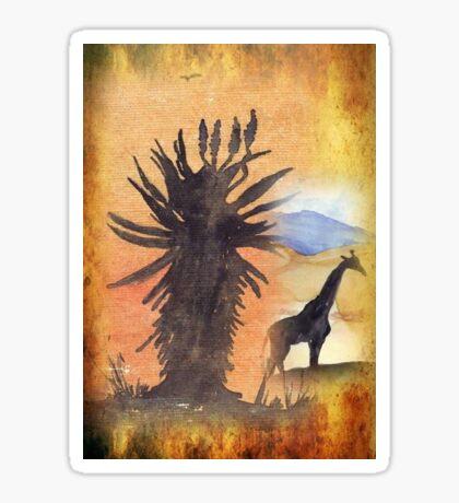 Lodge décor – African Bushveld scene Sticker