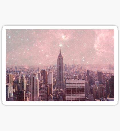Stardust Covering New York Sticker