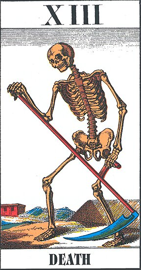 Death Tarot Card by babydollchic